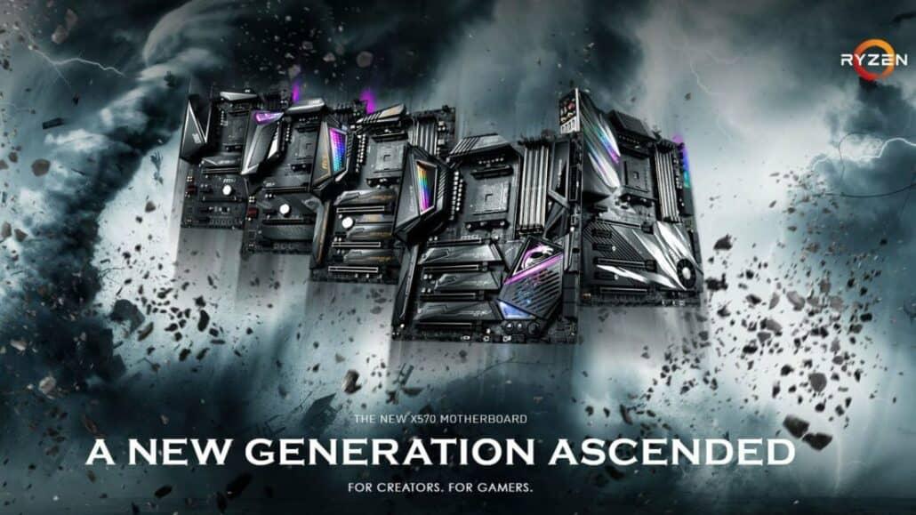 MSI выпускает прошивку BIOS AMD Ryzen AGESA 1.2.0.2 для материнских плат X570 и B550, BIOS 400-й серии.