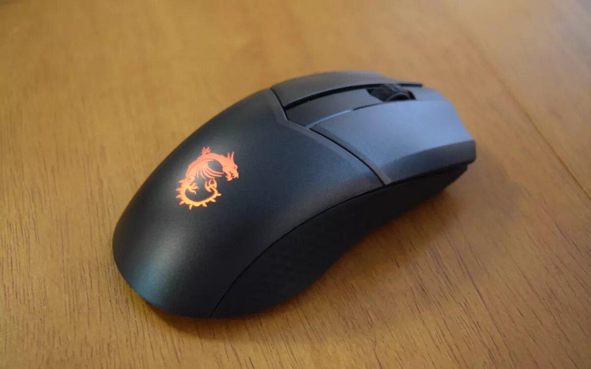 Обзор легкой беспроводной игровой мыши MSI Clutch GM41: Straight Fire