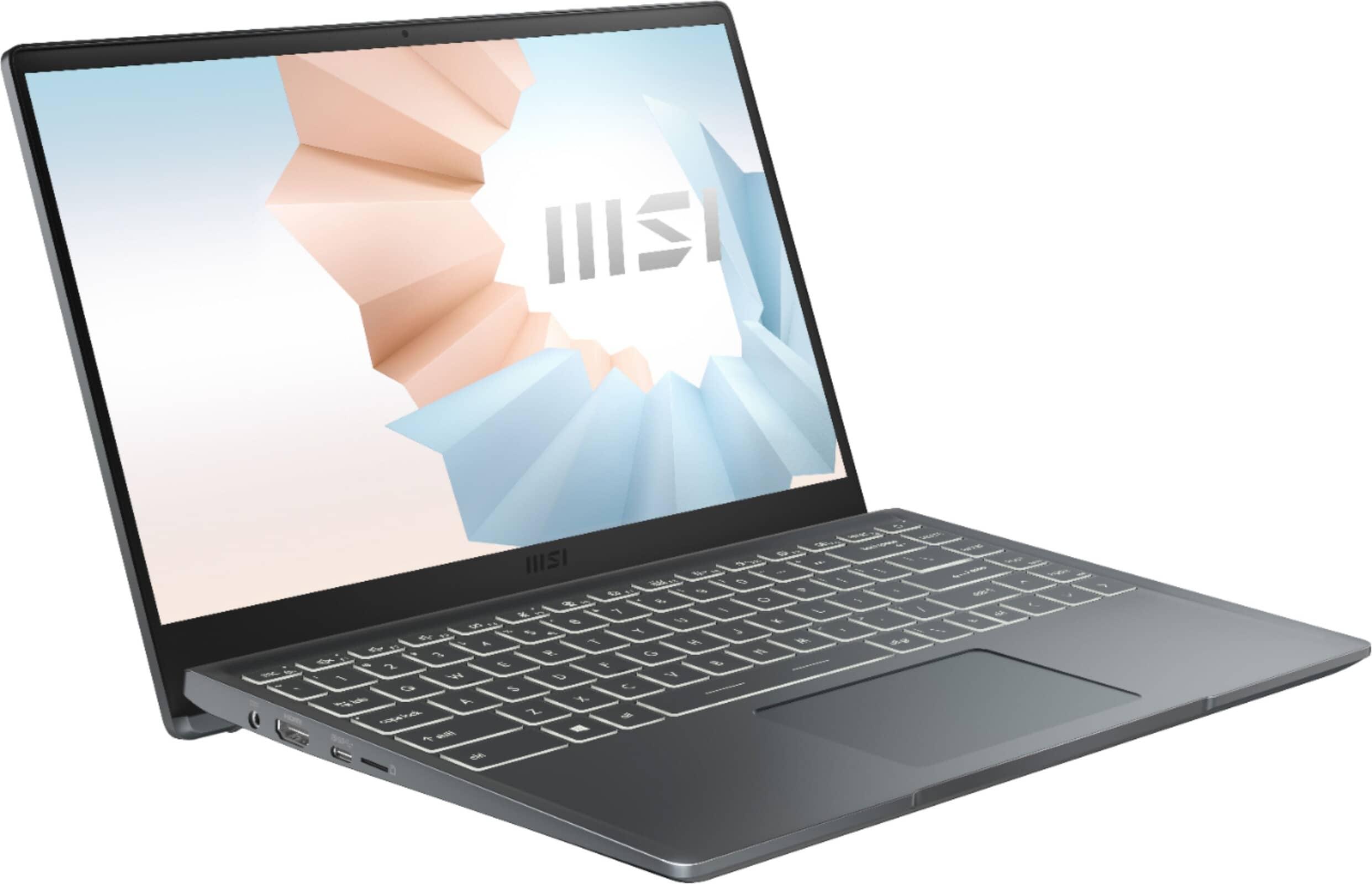 Ноутбук MSI Modern 14 по самой низкой цене