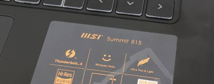 Обзор ноутбука MSI Summit B15 A11M: использование Iris Xe вместо GeForce MX