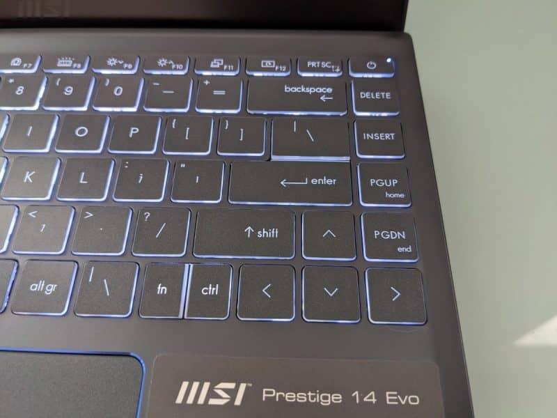 MSI Prestige 14 Evo
