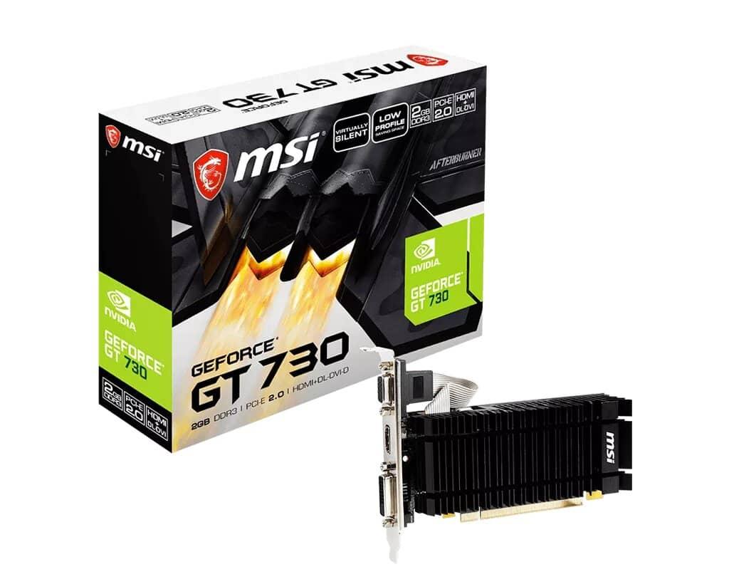 MSI возвращает GeForce GT 730 на фоне дефицита видеокарт