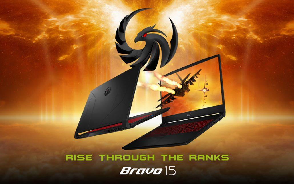 MSI анонсирует игровой ноутбук Bravo 15 с процессором AMD Ryzen 5000 H-Series и графикой Radeon RX 5500M