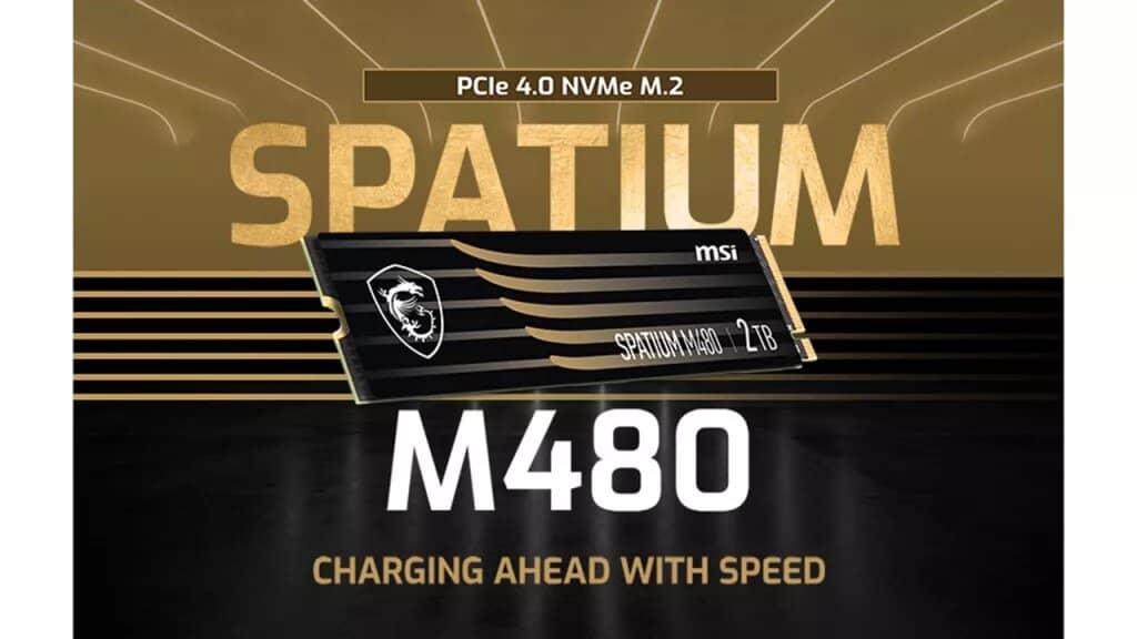MSI Spatium PCIe Gen 4