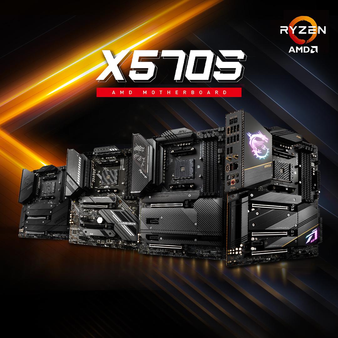 Материнская плата MSI MEG X570S Unify-X MAX достигает 2,55 ГГц FCLK на воздухе и 2,85 ГГц FCLK на LN2 с APU AMD Ryzen 5000G